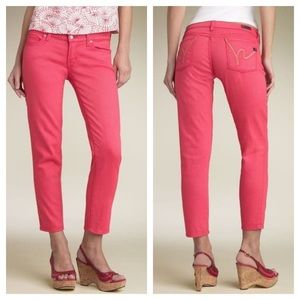 Citizens of Humanity Jeans Paley Skinny Ankle Pink